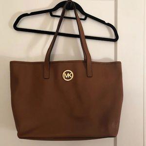 Handbags - Michael kors camel leather tote
